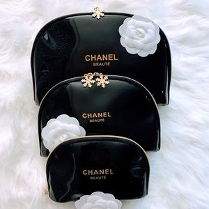Chanel | Cosmetic/Travel 3 Piece Set